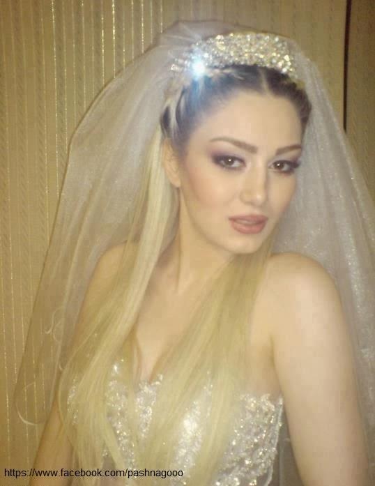 عکس عروسی واقعی بازیگر ایرانی