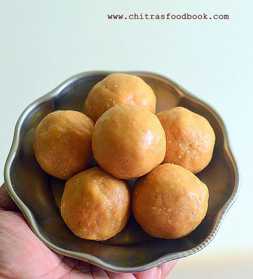 Peanut laddu recipe with jaggery