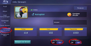 How to stream on Mobile Legends