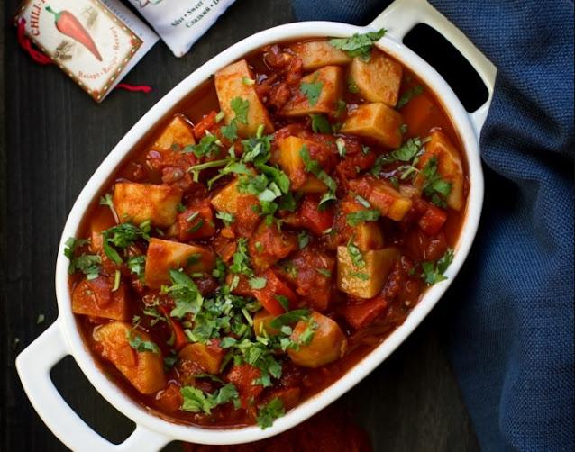 Vegan Hungarian Goulash #vegan #recipe