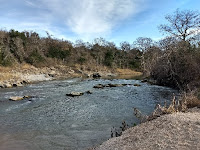 San Marcos River by campground