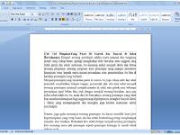 Cara Yang Tepat Memasang Gambar di Lembar Kerja  Microsoft Word
