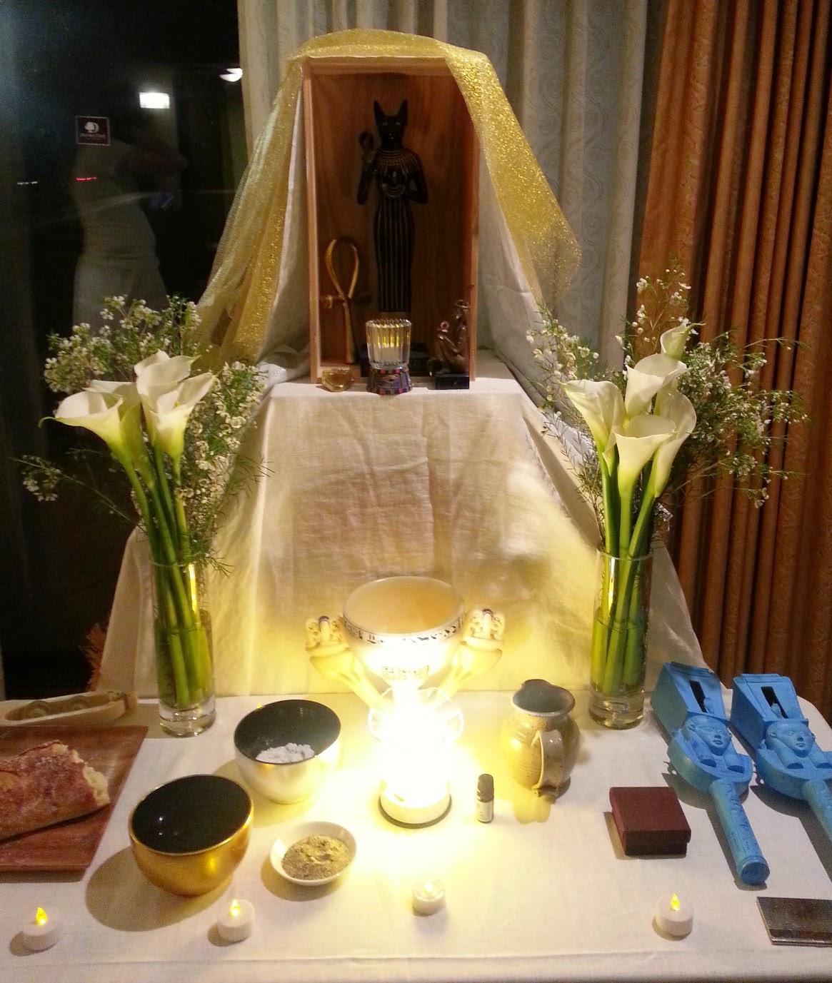Setken: A Kemetic Ritual for the Goddess Bastet