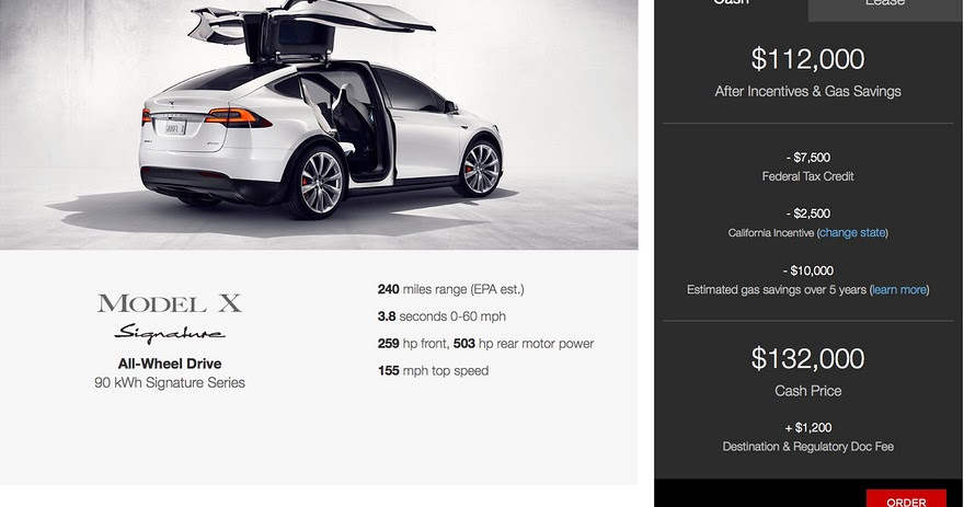 Tesla's Model X 'Signature' with 762 hp starts at $132,000 ...