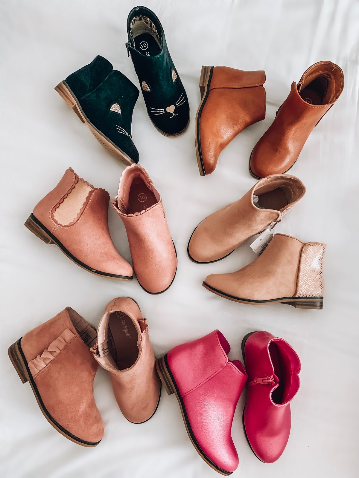 Target Fall 2019 Finds for Kids - Madeline's Picks - Booties for Toddler Girls - Something Delightful Blog #Kidsfallfashion