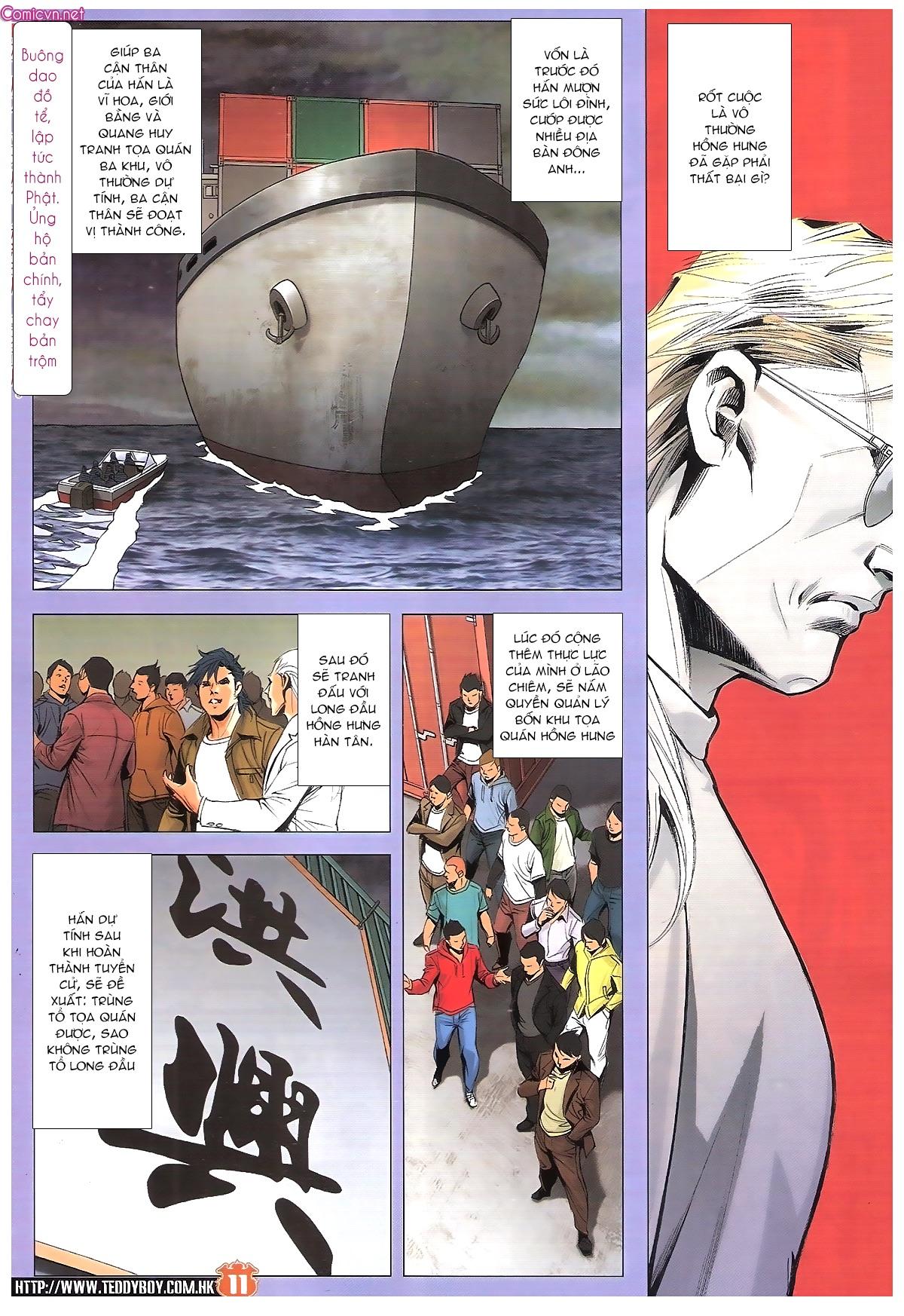 Người Trong Giang Hồ chapter 1887: chạm trán trang 10