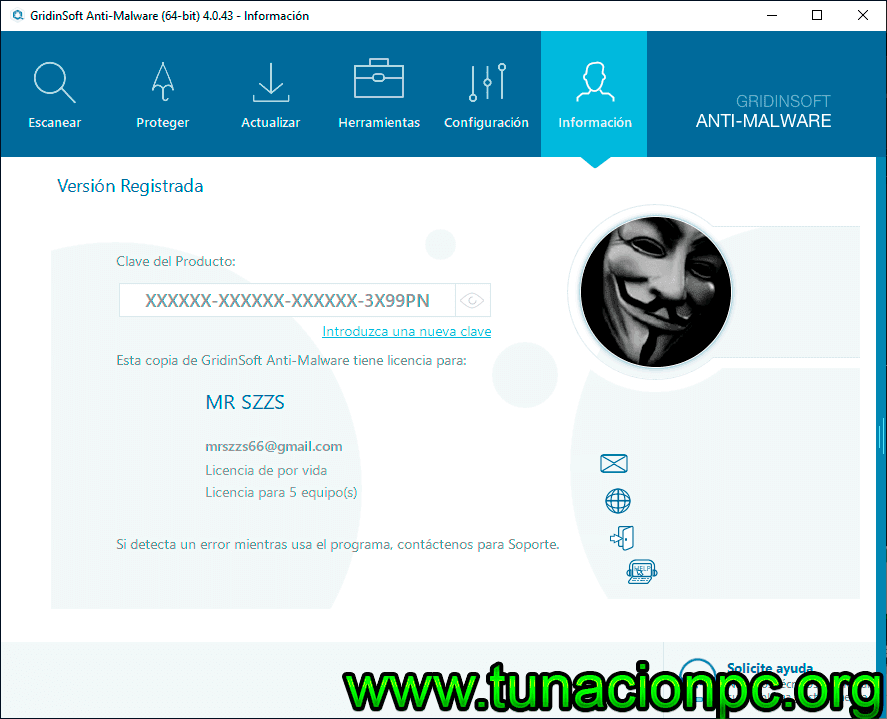 Descargar GridinSoft Anti-Malware Gratis