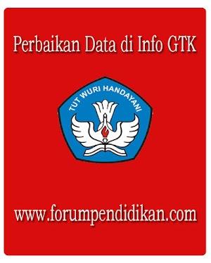 Arti Status Perbaikan Data di Info GTK