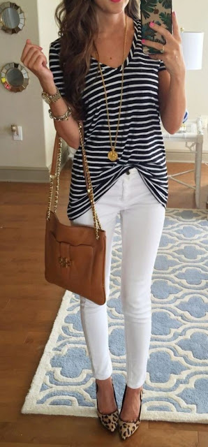 31 Cute Casual Chic Summer Outfits - Casual Chic Style Guide