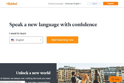 موقع babbel لتعلم اللغات
