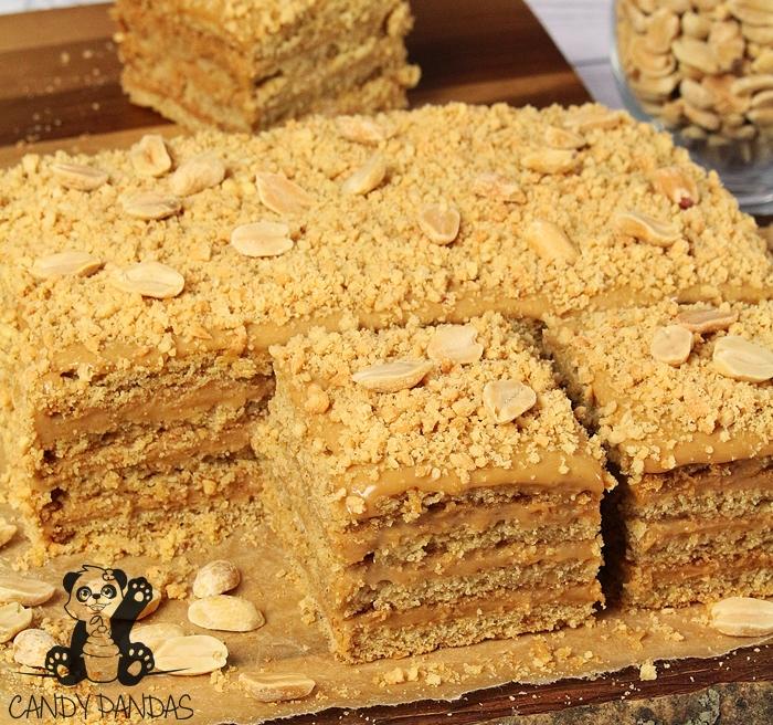 Wege ciato a'la miodownik (bez glutenu, cukru białego, laktozy, wegańskie)
