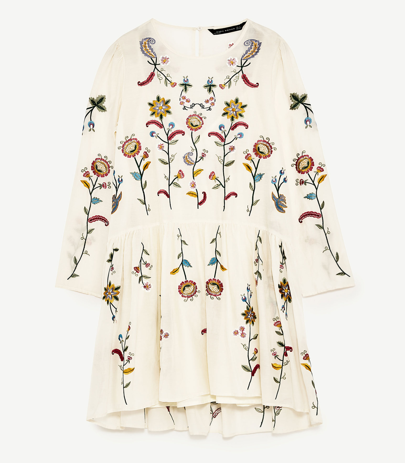 Buy Zara Embroidered Dress
