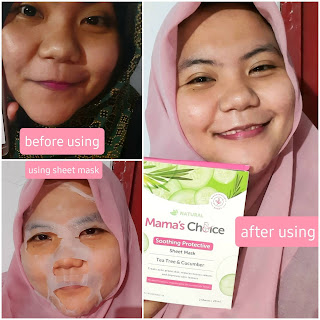 Before-While-After-Using-Sheet-Mask