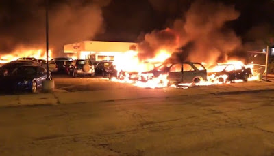 Protesters Blast After US Police Shoot Black Man in Kenosha; A State of Emergency Declared
