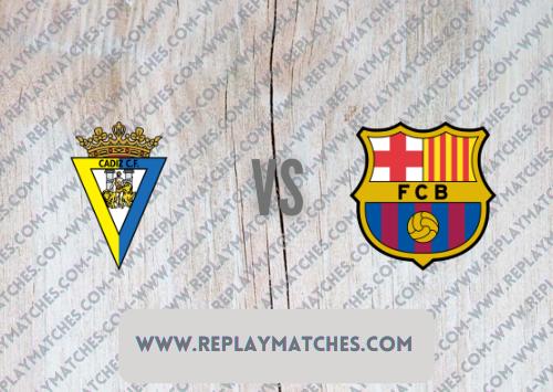 Cadiz vs Barcelona -Highlights 23 September 2021