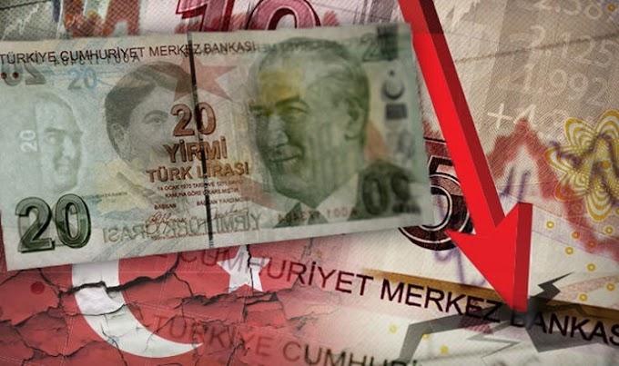 Η ελληνοτουρκική ένταση έριξε στα τάρταρα την τουρκική λίρα