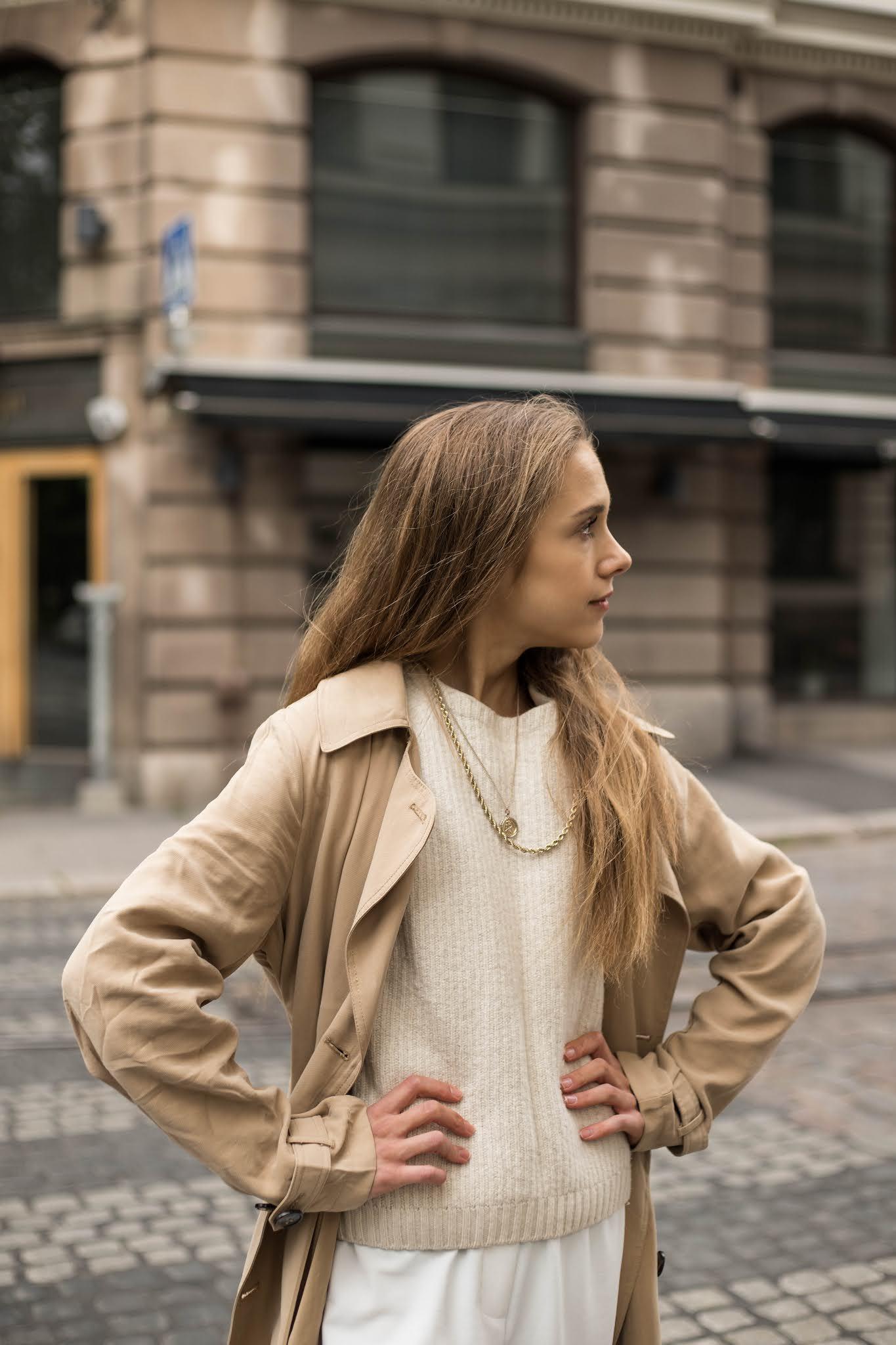 Kuinka yhdistää trenssitakki // How to wear trench coat