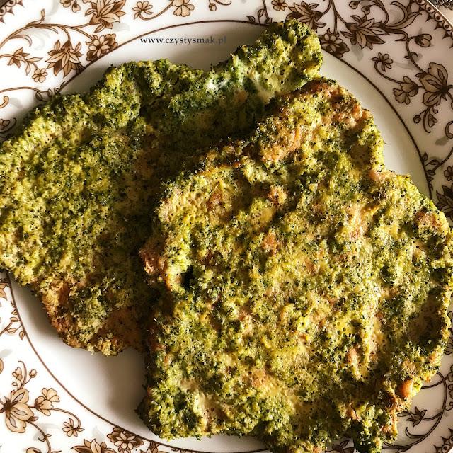 Schabowe w brokułowej panierce bez glutenu