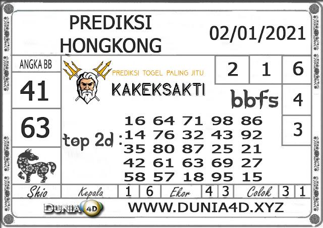 Prediksi Togel HONGKONG DUNIA4D 02 JANUARI 2021