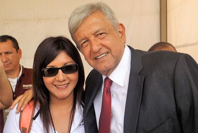 """La """"morenista de corazón"""" y trabajadora del Infonavit, Georgina Piña Acosta, fue liquidada conforme a derecho."""