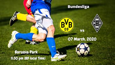 Borussia Dortmund vs Gladbach | BundesLiga