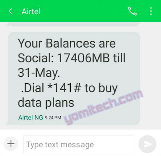 {filename}-Get Over 10gb Of Data Free On Your Airtel Sim In Nigeria
