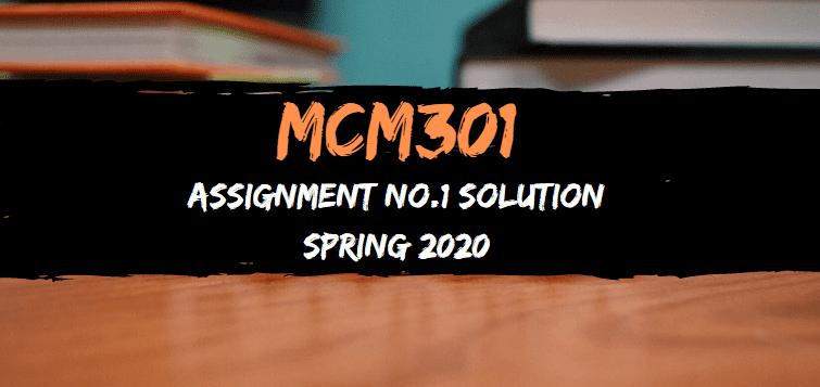MCM301