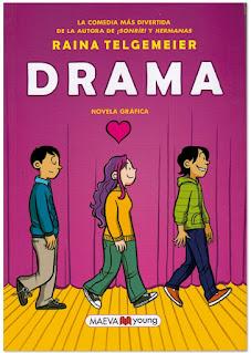 Comic Reina Telgemeier Drama Novela Gráfica juvenil