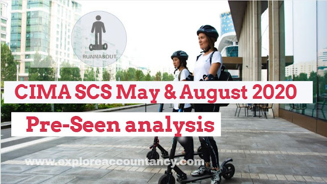 SCS February 2020 -  Pre-seen video analysis - CIMA Strategic Case Study - Runnabout