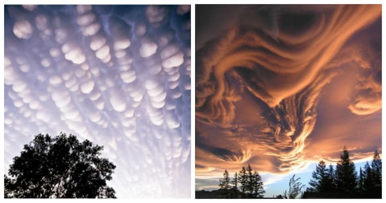 13 Pictures That Prove Mother Nature Is Messing With Us - Even Crazier Clouds