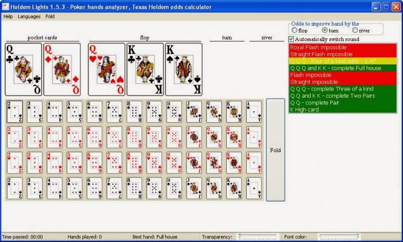 Texas holdem probability of hands