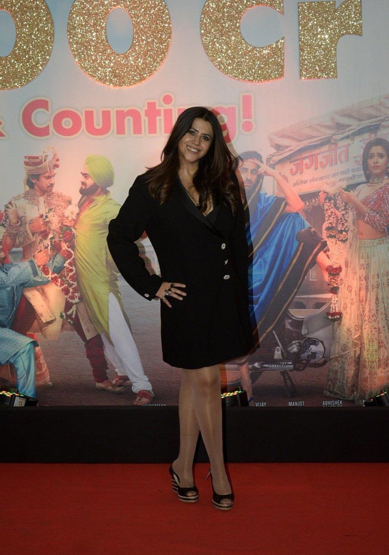 Indian Model Ekta Kapoor at Success Party Of Film Dream Girl