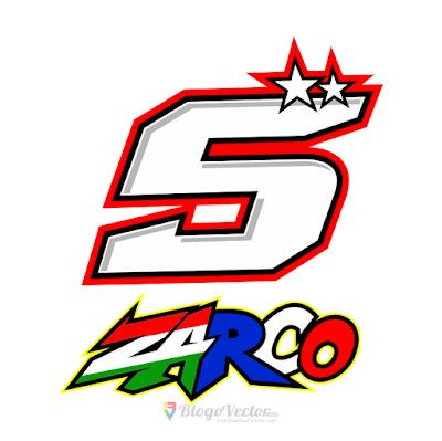 Johann Zarco #5 Logo Vector