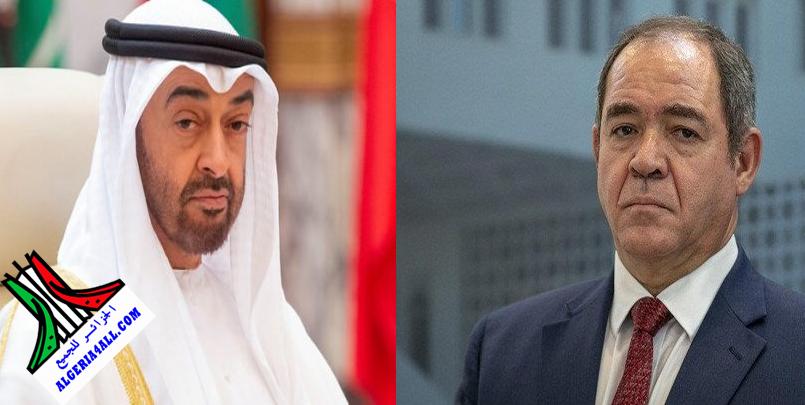 وزير الخارجية الإماراتي في الجزائر