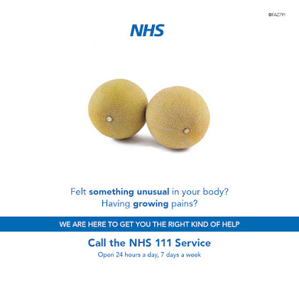 The NHS is OPEN for any complaints or ailments