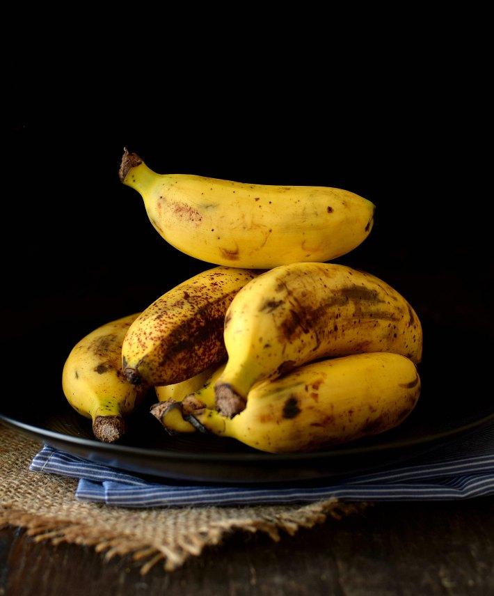 Fotografía culinaria: Guineos, cuando algunos objetos son difíciles de fotografiar