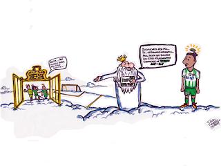Oriente Petrolero - Caricatura de Paúl Burton - DaleOoo.com sitio página web Club Oriente Petrolero