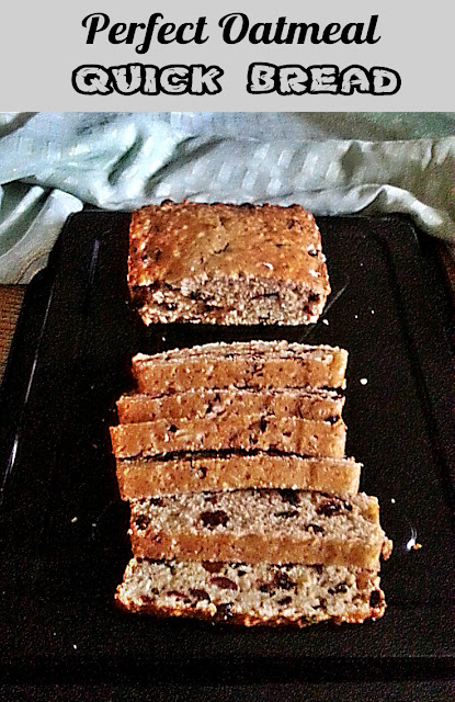 Perfect Oatmeal Quick Bread Recipe @ treatntrick.blogspot.com