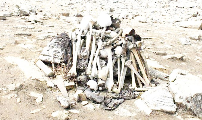 Mystery of the Skeleton Lake