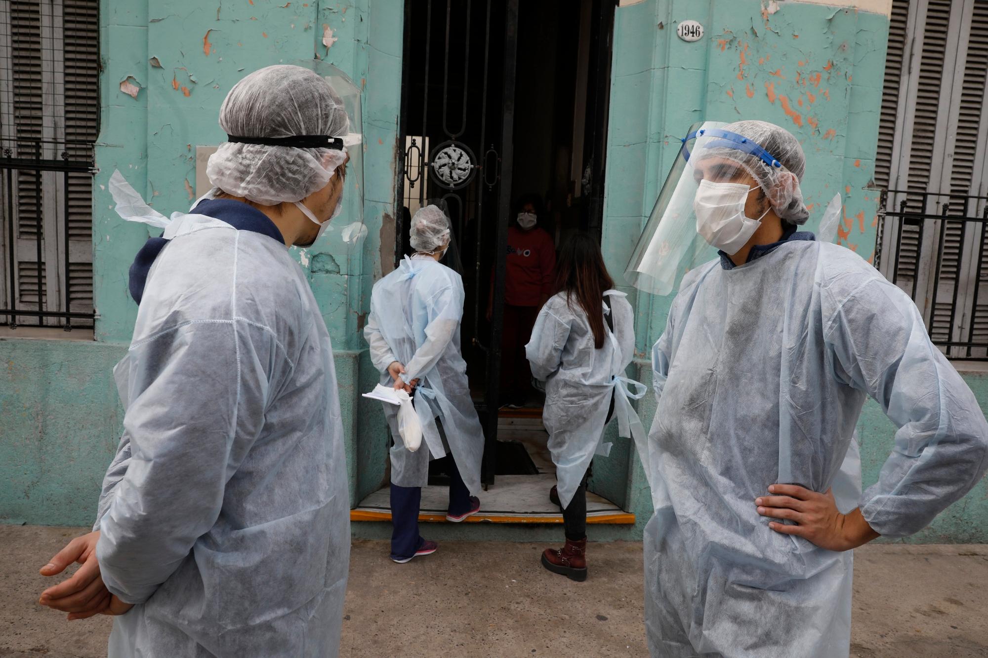 Coronavirus en Argentina: 553 muertos y 32.291 nuevos contagios de COVID-19 en las últimas 24 horas