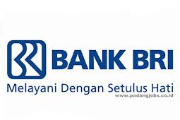 Lowongan Kerja Sumbar PT. Bank Rakyat Indonesia (Persero) Tbk Maret 2019