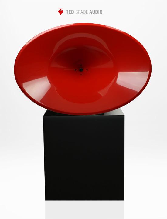 Red Spade Audio: EOI: DIY point source horn kit