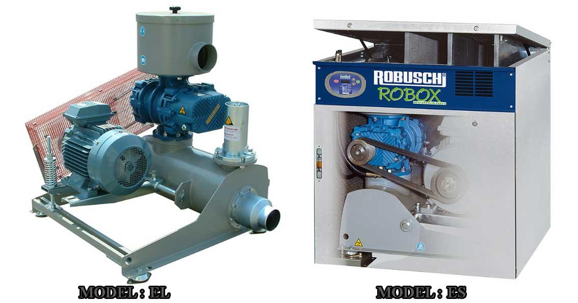 Robuschi roots blower, máy thổi khí