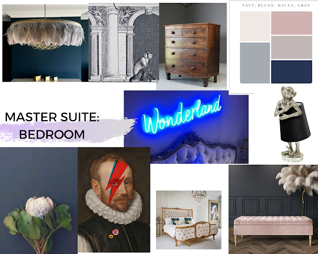 Master Suite Mood Board Victorian Home Renovation