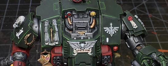 Dark Angels Redemptor Dreadnought WIP
