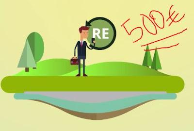 Recyclix pago de 500 euros y seguimos la inversión.