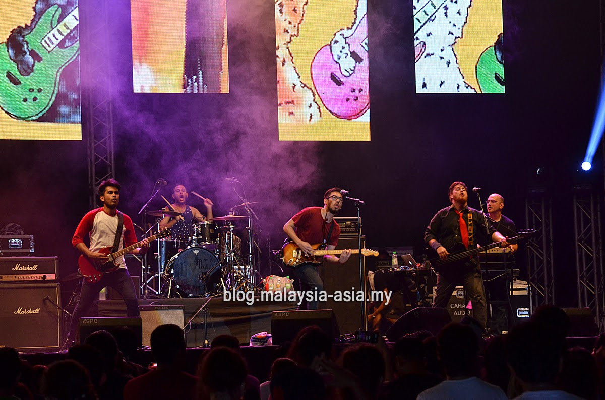 Kyoto Protocol Live at My Music Festival 2015 Malaysia