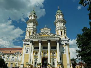 Ужгород. Хрестовоздвиженський кафедральний собор
