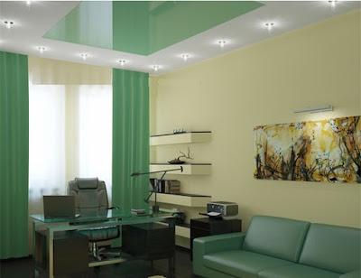 stretch office ceiling design ideas