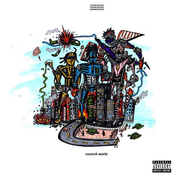 Divine Council - Council World - EP Cover